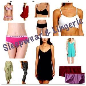 Sleepwear & Lingerie